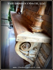 The Design Coach - Reclaimed Corbels