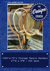 tennis rackets POP