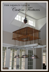 The Design Coach - Custom Light Fixture
