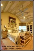 Bedroom - Reclaimed Wood Ceiling