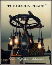 The Design Coach - Custom Lighting - The Boxer