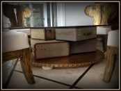 The Design Coach - Suitcase Coffee Table