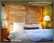 The Design Coach - Custom Headboard