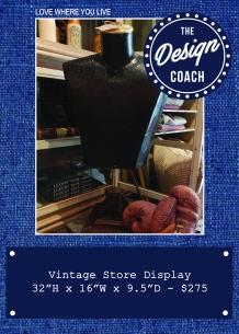 vintage store display POP