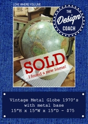 globe 2 SOLD