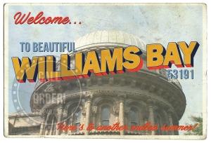 Williams Bay Yerkes Postcard